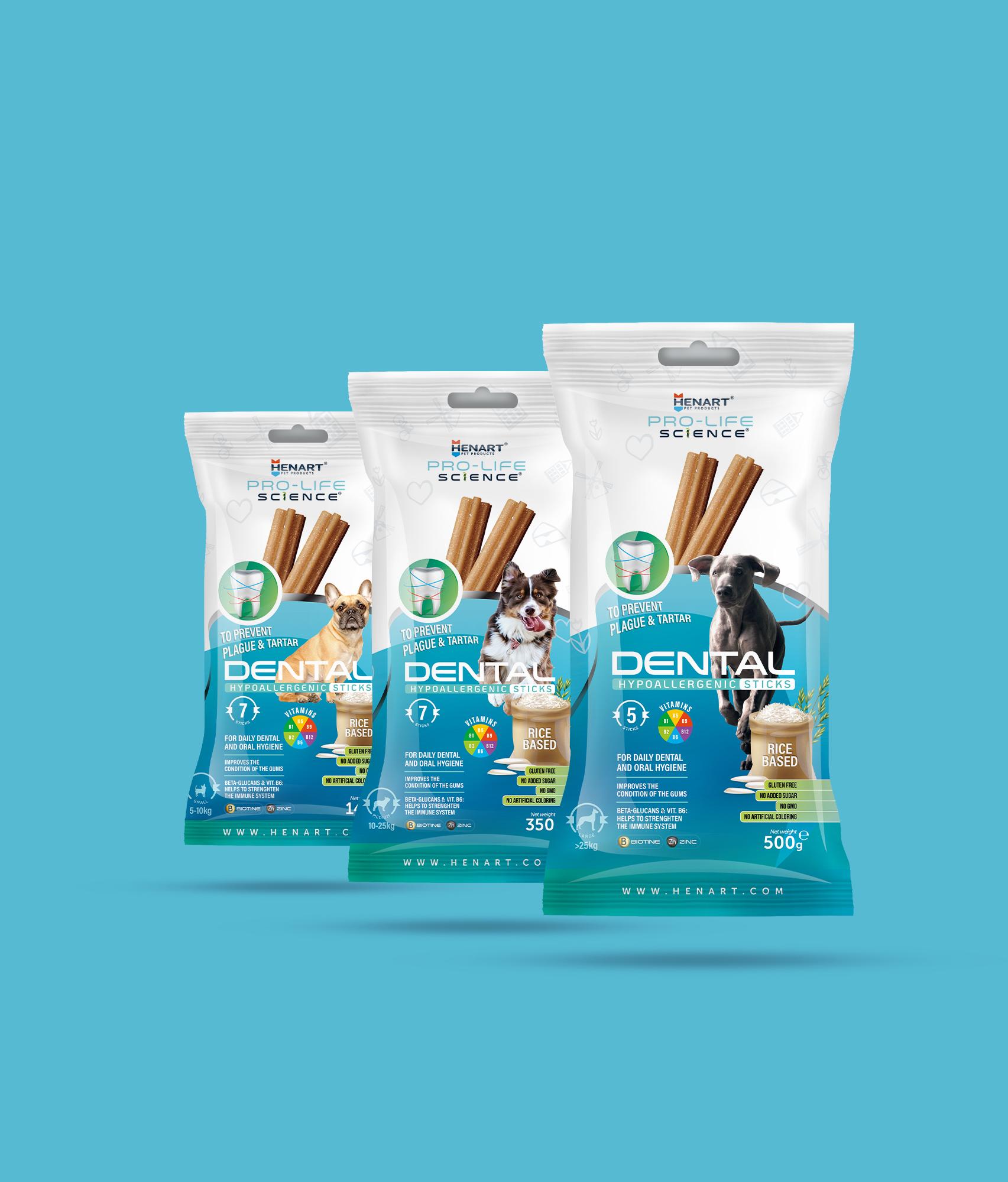 HenArt Dental Sticks